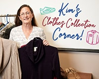 Sedona is so proud of Kim's Clothes Donation Program!